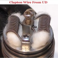 UD Atomizer DIY Clapton Wire Shots (Kanthal A1 D=0.2mm/0.4mm 26AWG 32AWG)
