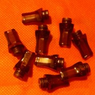 Acrylic Flat Mouth Drip Tip